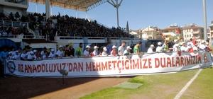Ağrılı öğrencilerden Mehmetçiğe destek