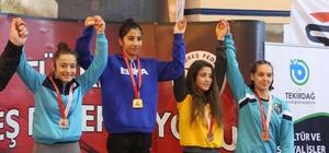 Türkiye Yıldız Kızlar Güreş Şampiyonası sona erdi