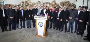 Afrin'e 5 Tır insani yardım