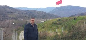 Amasra'dan Zeytin Dalı operasyonuna dev Türk bayrağı ile destek
