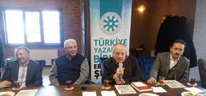 TYB Erzurum Şubesi'nin Edebiyat dergisi Hüma tanıtıldı