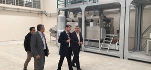 Kahta'da nar ve badem işleme tesisleri kuruldu