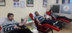 """""""Vatan sana kanım feda"""" kan bağış kampanyası"""