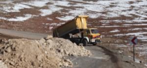 Başkan Karayol yol çalışmalarını yerinde inceledi