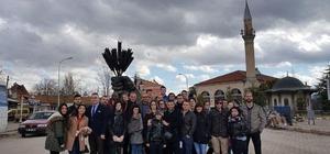 30 farklı ülkeden öğrenci Aslanapa'yı ziyaret etti