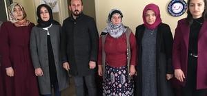 Ülkü Ocakları Bayburt İl Başkanlığı Asena Biriminden şehit ailelerine ziyaret