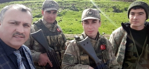 Arifiye Belediyesi Meclis üyelerinden Afrin kahramanlarına ziyaret