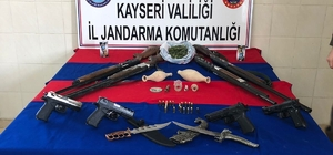 Kayseri merkezli silah kaçakçılığı operasyonu