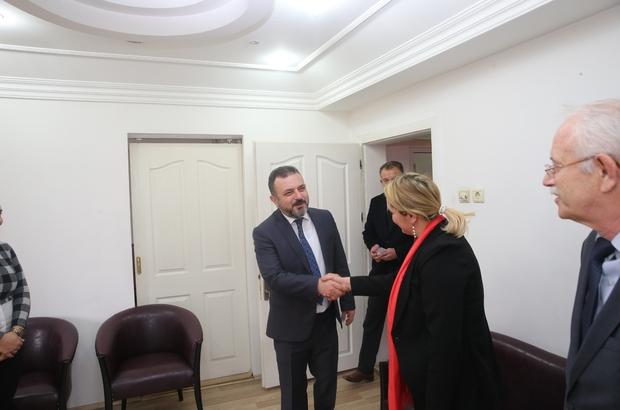 Başkan Ercan ziyaretlerine devam ediyor