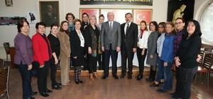 Kazım Kurt'tan CHP Gençlik ve Kadın Kollarına ziyaret