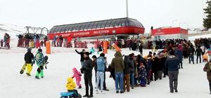 Haftasonu Erciyes'i 60 bin kişi ziyaret etti