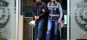 Antalya'da kapkaç anı güvenlik kamerasında
