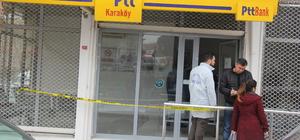 Manisa PTT şubesinde silahlı soygun