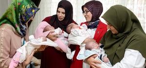 Meram'dan 'İyi ki doğdun bebek' projesi