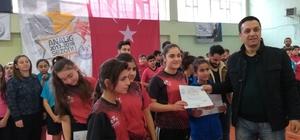 Mardin'de Analig Masa Tenisi grup müsabakaları sona erdi