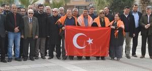 Turgutlu'da dernekler Mehmetçik için tek yürek oldu