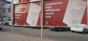 Mardin'de 'Akılcı Antibiyotik Kullanımı' kampanyası