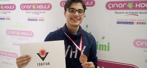 Malatya Özel Çınar Fen Lisesinden TUBİTAK başarısı