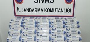 Sivas'ta kaçakçılık operasyonları
