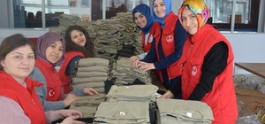 Gençlik Merkezleri'nden Zeytin Dalı Harekatı'na destek