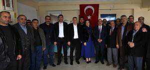 """Başkan Toçoğlu: """"Kültür derneklerimizin yanındayız"""""""