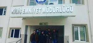 Öğretmen ve öğrenciler Mehmetçiğe destek için Kilis'e, gitti