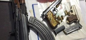 Adıyaman'da silah kaçakçılarına operasyon