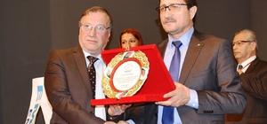 idim Ticaret Odası'ndan Yaşar Pektaşoğlu'na plaket