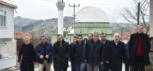 Başkan Doğan, Hatipköy'deki çalışmaları yerinde inceledi