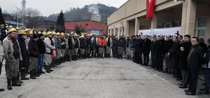 Madencilerden Zeytin Dalı Harekatı'na destek