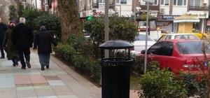 Yürüyüş Yolu'ndaki çöp sepetleri yenileniyor