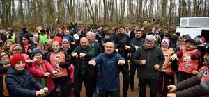 Başbakan Yardımcısı Fikri Işık, sağlıklı yaşam için yürüdü