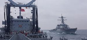 Türk Silahlı Kuvvetlerinden denizde ikmal eğitimi