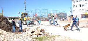 Vatandaşlar yol yapımı çalışmalarından memnun