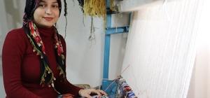 Kırsal bölgelerde dokumacılık yeniden canlanıyor