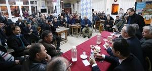 üyükşehir sahada vatandaşı dinliyor