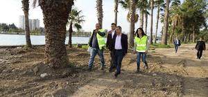"""Başkan Çelikcan: """"Yüreğir'de yeşil alanları hızla çoğaltıyoruz"""""""