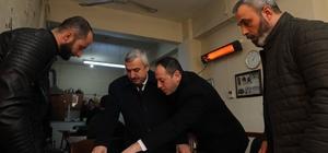 Başkan Baran, Otoban Üstü Camii'ni inceledi