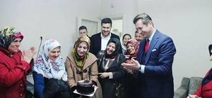 AK Parti Odunpazarı ziyaretlerini sürdürüyor