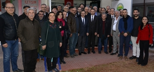 Başkan Ataç'tan Bey-Der'e ziyaret