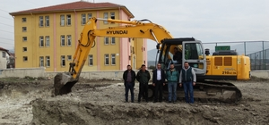 Domaniç'te Hisar İlkokulu'nun yapımına başlandı