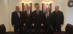 Kaymakam'dan Akyazı Belediye Başkanı Akcan'a iade-i ziyaret