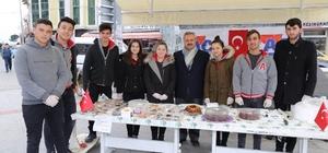 Lise öğrencilerinden Mehmetçik Vakfına Destek Kermesi