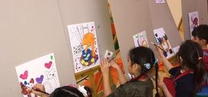 Sanat Haftasında GKV'li Minik Ressamları İş Başında