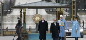 Makedonya Cumhurbaşkanı İvanov Ankara'da