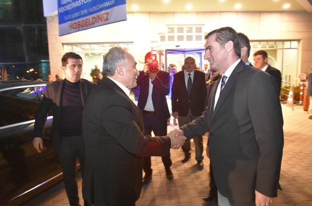 Bakan Ahmet Eşref Fakıbaba Kızılcahamam'da