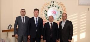 Niğde Belediye Başkanı Özkan STK Ziyaretlerini Sürdürüyor