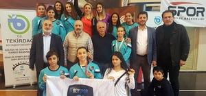Beyoğlu Belediyesi Spor Kulübü'nden güreşte büyük başarı