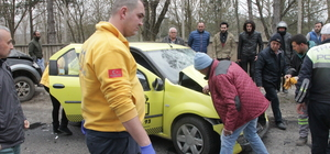 Kırklareli'de trafik kazası: 3 yaralı