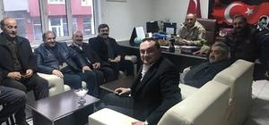 Başkan Baydar Hanak'ta ziyaretlerde bulundu